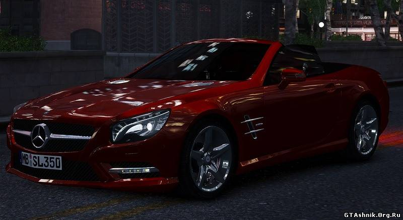 Mercedes-Benz SL 350 2013 для GTA 4