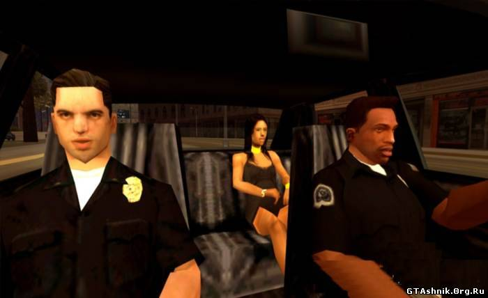 скачать мод на гта са на работу полицейским - фото 3