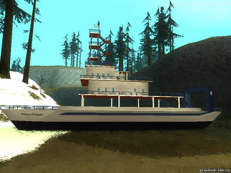Скачать Ferry Boat для GTA San Andreas